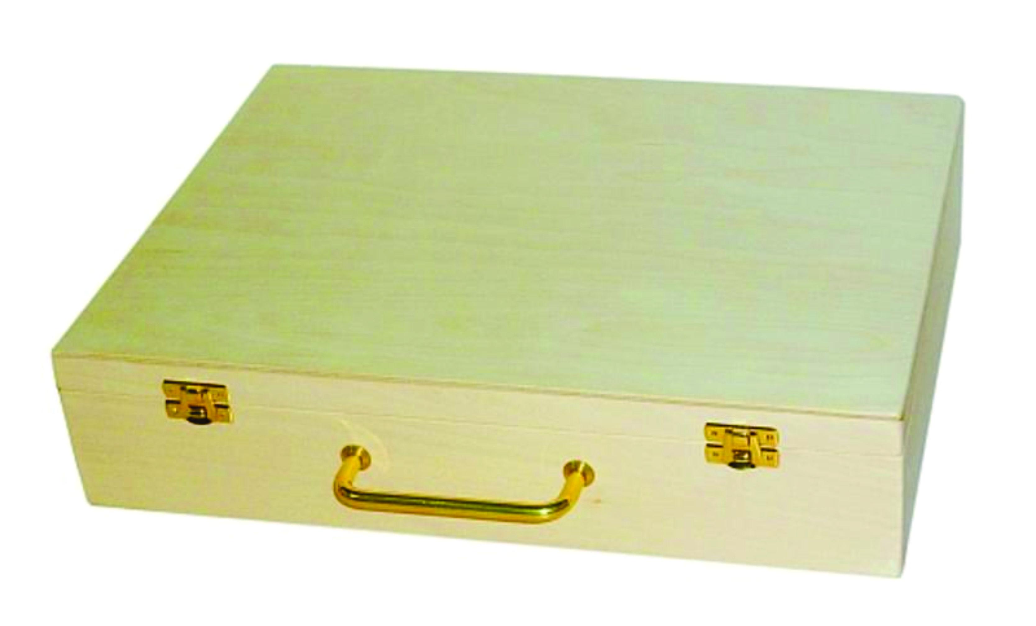 T3 Drevený kufor 33.5 x 7.8cm x 3 VF