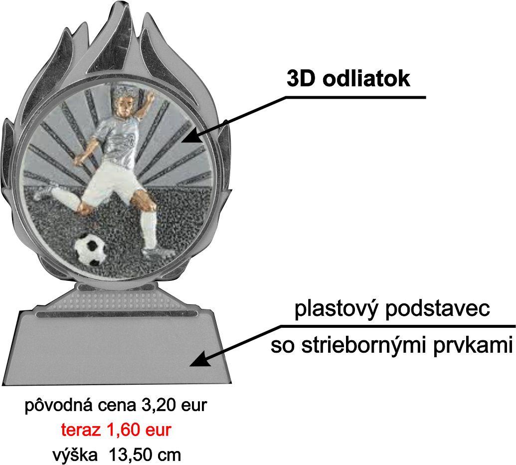 f796362cac51 plastové trofeje s 3D motívom